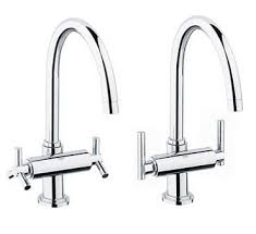 2 handle kitchen faucets awesome grohe double handle kitchen faucet kitchen faucet blog