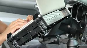 Car Laptop Desk by Ram Mount Laptop Mount Review Youtube