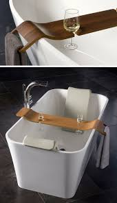 aquala bathtub caddy 7 things you need to create the perfect spa at home contemporist