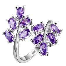 2pcs lot new arrival simple style ring cz men ring fashion new arrive luckyshine 2 pcs unique purple cubic zirconia