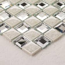 Mirrored Bathroom Wall Tiles - floor tile mirror mosaic tile sheets bathroom wall tiles ceramic