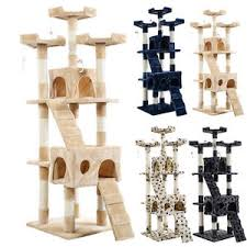new 66 cat tree tower condo furniture scratching post pet