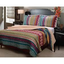 global trends santa fe bedding quilt set walmart