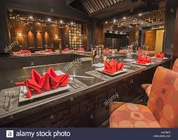 interior design of a luxury hotel resort asian restaurant dining