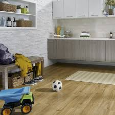 marigold oak laminate floor with wear and spill protection