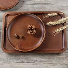 assiettes en bois achetez en gros acacia bois en ligne à des grossistes acacia bois