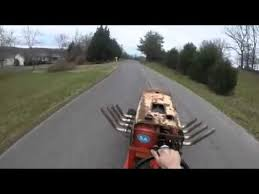 guy hooks a chevy big block up to a lawn mower top stories