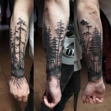 tattoo forest black ink on instagram