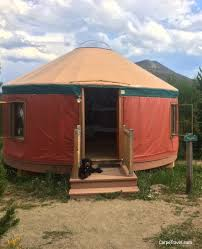 family camping turns glamping in the yurts at snow mountain ranch