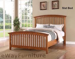 Shaker Bedroom Furniture by Ashland Shaker Style Slat Bed Bedroom Furniture Set