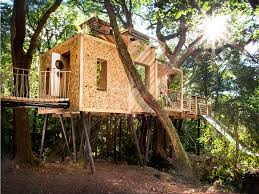 stay the night in this 150 000 treehouse with its own slide