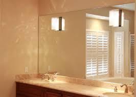 mirror horrifying frameless large mirrors for walls charm hang