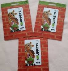 the muppets collectible gift cards brand new ebay