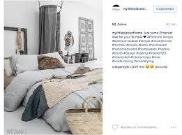 chambre deco scandinave instagram inspiration déco pour la chambre cocon de décoration