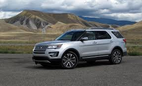 2016 ford explorer platinum first drive u2013 review u2013 car and driver