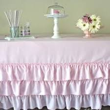 best 25 ruffled tablecloth ideas on diy clothes