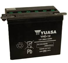 harley davidson yhd 12 motorcycle battery