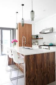 kitchen island pendant lighting adds to home u0027s monochromatic palette