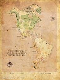 Columbian Exchange Map Civilizations Of The Pre Columbian Americas Massive Panel Ama
