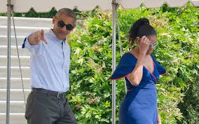 Vacation Obama Barack And Michelle Obama Relax In The Caribbean With Richard