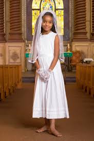 simple communion dresses white communion dresses simple plain classic tea length strasburg