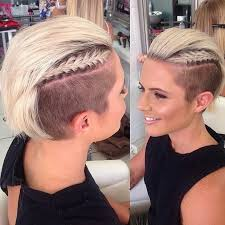hair braided on the top but cut close on the side 143 best hair images on pinterest hair cut hairstyle for women