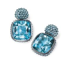 hemmerle earrings hemmerle earrings aquamarines silver white gold image courtesy