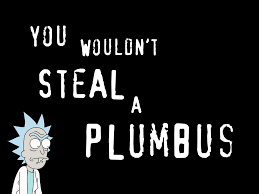 Piracy Meme - piracy is a crime morty imgur