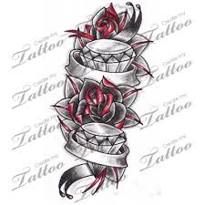 marketplace roses diamonds with banners 6938