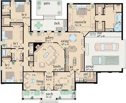 Floor Plan Of 4 Bedroom House Best 25 Country Style House Plans Ideas On Pinterest Country