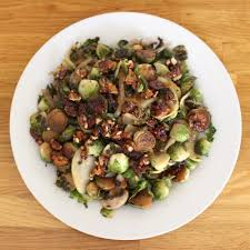 thanksgiving bacon brussels sprouts with candied bacon u0026 walnuts glitter inc