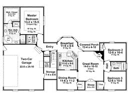 european style house plan 3 beds 2 baths 1600 sq ft plan 21 258