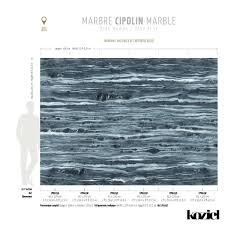 navy blue cipolin marble panoramic wallpaper koziel fr
