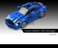 lego aston martin db5 lego ideas minifig sized cars aston martin v8 vantage