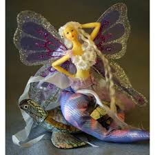 Mermaid Fairy Mermaid Tail Doll With Butterfly Wings Lilac Small U2013 Www Fairy Com Au