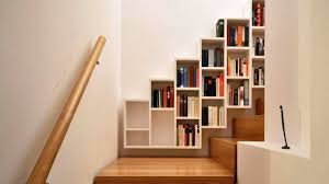 put a bookshelf anywhere in your home be smart with your space