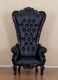 Throne Style Chair Haunt Furniture Gothic Decor Enthusiasts Decor Ideas Design
