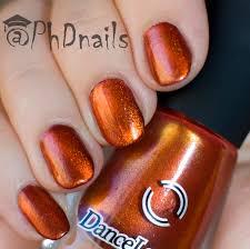 phd nails 40 great nail art ideas 3 shades of red orange and