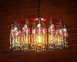 coca cola pendant lights coca cola bottle chandelier made in usa pendant style ebay