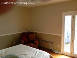 mendham nj interior painting service by craftpro two tone color