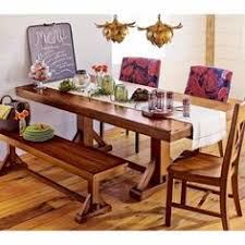 this is the table i used for my rustic dining room board over at