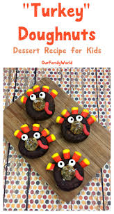 top 10 thanksgiving desserts turkey doughnuts sweet treats thanksgiving dessert recipe