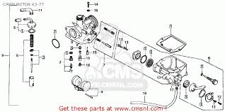 honda ct70 trail 70 k4 1975 usa carburetor k3 77 schematic