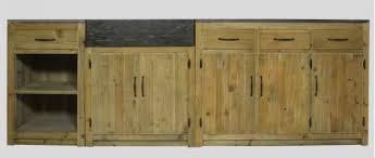 meuble de cuisine en bois cuisine où trouver des meubles indépendants en bois brut le