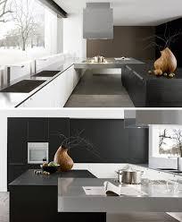 Contemporary Kitchen Simple Modern Black  White Design - Simple modern kitchen