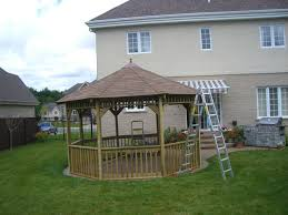 12ft octagon garden backyard gazebo plans wood plans download