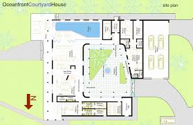 house plan house plans with courtyards luxury strikingly design