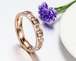 crystal fashion rings images Keisha lena rose gold color ring for women kids rings girls finger jpg