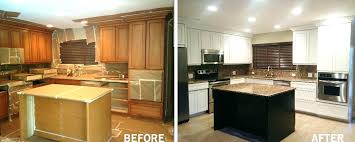 how to refinish oak kitchen cabinets kitchen cabinets refinishing bloomingcactus me