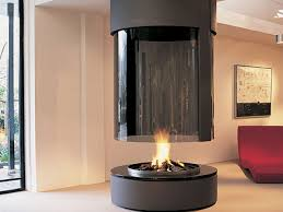 round gas fireplace free standing natural gas fireplaces free